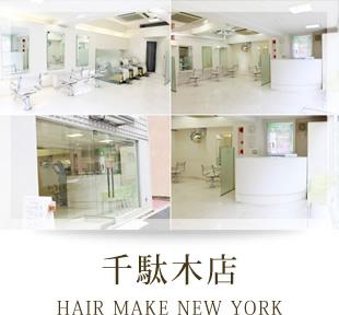 千駄木店 HAIR MAKE NEW YORK